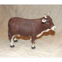 Mucca marrone