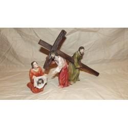 Gesù con samaritano