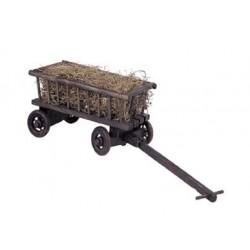 Carro romano con paglia