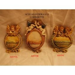 Acquasantiera angelo art. A0059A