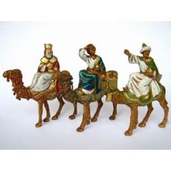 Tris Re Magi su cammello