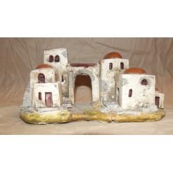 Case in polvere di ceramica bianco