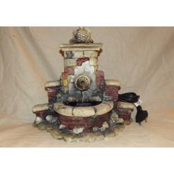 Fontana terracotta con motore cm 24x24
