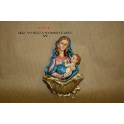 Acquasantiera Maria e Gesù art. A09/014