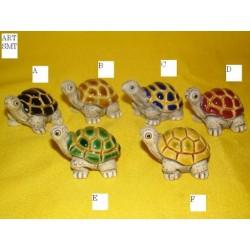 Tartaruga ceramica cm 2,5 art.SMT/F