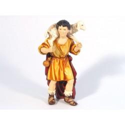 Uomo orientale con pecora