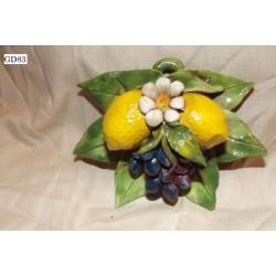 Bomboniera limoni e uva art. GD83