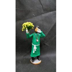 devota sant'agata con fiori