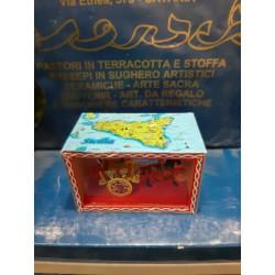BOX CARRETTO SICILIANO CM 9X5,5