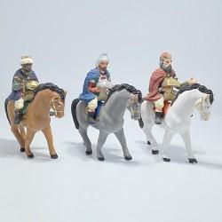 tris re magi a cavallo