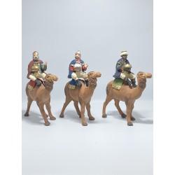 tris re magi su cammelli