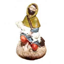 Pastore seduto c/agnello art. SM7