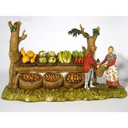 Scena venditore frutta