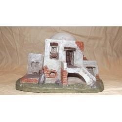 Casa in polvere di ceramica