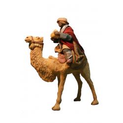 Re Magio nero su cammello bardato